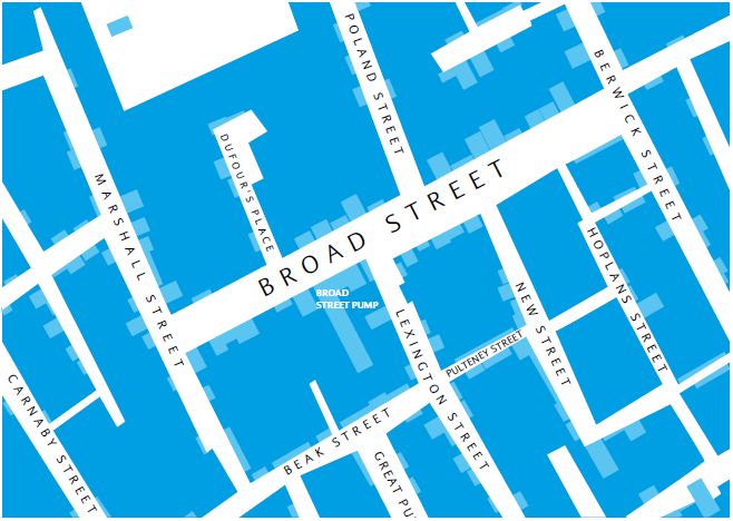 old map of Broad Street